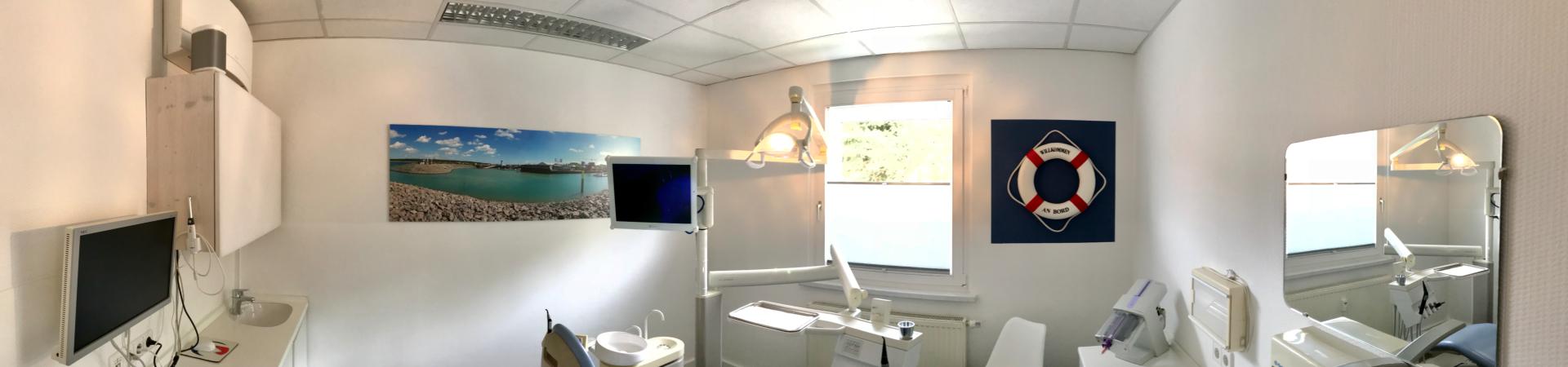 Foto des Behandlungszimmers 1