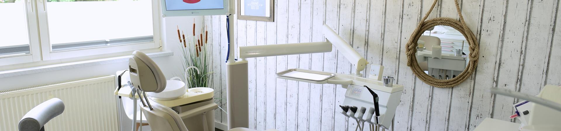 Foto vom Behandlungsraum