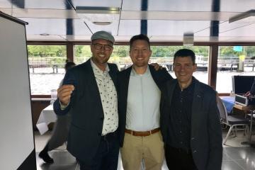 Praxiscoach Sven Bartosch, Dr. Jan Fischer und ZTM Josè de San Josè Gonzales